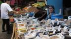 Auf dem Markt in Neftekumsk.