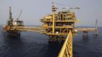 Pemex-Ölplattform «Ku Maloob Zaab» in der Bay von Campeche.