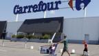 Der krisengeplagte Euroraum hat nach zwei Jahren Misere den Weg aus der Rezession gefunden. Einkaufszentrum in Brive-La-Gaillarde in Frankreich.