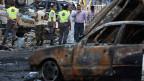 Im Süden Beiruts explodierte ein Sprengssatz. Die Folgen waren verheerend: 18 Menschen starben, gegen 300 wurden verletzt.
