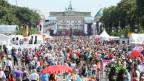 Volksfest der SPD vor dem Brandenburger-Tor