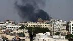 Im Osten der syrischen Hauptstadt Damaskus; hier untersuchen Uno-Experten zur Zeit den Giftgas-Angriff von letzter Woche.