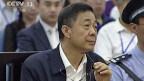 Bo Xilai am 26. August im Volksgerichtshof in Jinan.