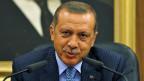 Der türkische Premier Tayip Erdogan befürwortet einen Militärschlag gegen sein Nachbarland Syrien.