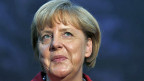 Die deutsche Bundeskanzlerin Angela Merkel am 28. August in Friedrichshafen.