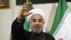 Irans Präsident Hassan Rohani. Die Regierung in Teheran hat sich am Sonntag dem Uno-Generalsekretär Ban-Ki-Moon als Vermittlerin im Syrien-Konflikt angeboten.