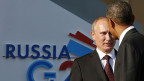 Russlands Präsident Wladimir Putin und US-Präsident Barack Obama in St. Petersburg.