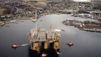 Ölbohrplattform in Norwegen