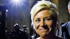 Siv Jensen, die desgnierte norwegische Finanzministerin.