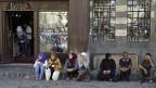 Alltag im Krieg - in der syrischen Hauptstadt Damaskus.