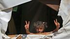 Ein syrisches Mädchen in einem Flüchtlingslager im libanesichen Bekaa-Tal.