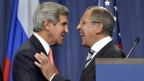Kerry und Lavrov haben sich geeinigt.