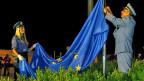 Am 1. Juli 2013 wurden in ganz Kroatien Flaggen der Europäischen Union gehisst; Kroatien ist seither das 28. EU-Mitglied.