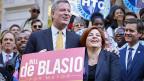 Bill de Blasio an einer Veranstaltung am 17. September in New York.