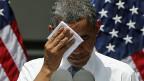 US-Präsident Obama an einer Veranstaltung zum Klimawechsel an der Georgetown Universität in Washington.
