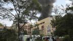 Rauch über dem Westgate Shopping Center in der kenianischen Hauptstadt Nairobi.