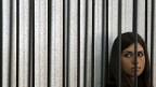 Nadeschda Tolokonnikova am 26. Juli, während der Gerichtsverhandlung. Inzwischen befindet sie sich im Straflager im Hungerstreik - und in Isolationshaft.