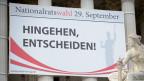 Aufforderung zur Wahl in Wien