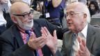 Die Physiker François Englert und Peter Higgs erhalten den diesjährigen Nobelpreis für Physik.