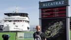 Hier legen die Ausflugsschiffe zur Insel Alcatraz an;  zur Zeiten bieter das Tourismusunternehmen nur Rundfahrten um die Insel an.