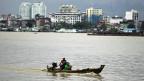 Burmas Hauptstadt Rangun.