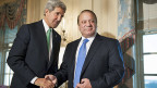 US-Aussenminister John Kerry trifft Pakistans Premierminister in Washington.