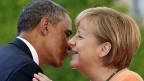 Noch im Juni schienen US-Präsident Obama und die deutsche Bundeskanzlerin Merkel gute Freunde zu sein.