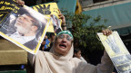 Eine Anhängerin des gestürzten ägyptischen Präsidenten Mohamed Mursi weint, Kairo, am 4. November 2013.