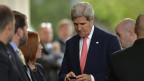 US-Aussenminister John Kerry bei der Ankunft am 8. November 2013 in Genf. Seit langer Zeit liegt erstmals in Sachen Atom-Streit eine Kompross-Idee auf dem Tisch.