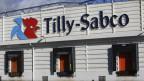 Geflügelverarbeitungsfabrik Tilly Sabco in der Bretagne (Guerlesquin).