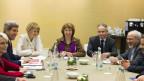 US-Aussenminster Kerry wohnte den Verhandlungen in Genf bei