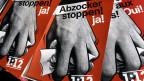 Plakate der SP-Kampagne