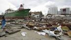 Bilder von den Verwüstungen, die der Wirbelsturm auf den Philippinen angerichtet hat, gibt es bis jetzt fast nur aus der Stadt Tacloban.