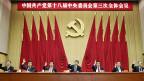 Chinas Führung bei der Schlussabstimmung zu ihrer viertägigen Beratung zu möglichen Wirtschaftsreformen, am 12. November in Peking.