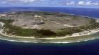 Die Inselrepublik Nauru, ein Mitglied der Allianz der kleinen Inselstaaten AOSIS.