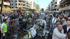Das Gelände rund um die iranische Botschaft in Beirut gleicht einem Schlachtfeld, nachdem zwei Autobomben der Assam-Brigaden mindestens 22 Menschen in den Tod gerissen haben.