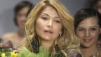 Gulnara Karimowa, die glamouröse Tochter von Usbekistans autoritärem Präsident an den Fashion Weeks in Moskau im April 2012.