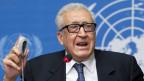 Der internationale Syrien-Sondergesandte Lakhdar Brahimi berät mit Vertretern der USA und Russlands über einen Termin für eine Syrien-Friedenskonferenz.