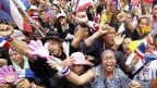 Proteste gegen die thailändische Regierung am 26. November in Bangkok.