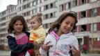 Roma-Kinder in einer Siedlung am Rand der slowakischen Stadt Kosice.