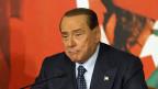 Silvio Berlusconi am 25. November in Rom - da war er noch Senator.