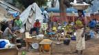 Flüchtlinge in Bossangoa, einer Stadt im Norden der Zentralafrikanischen Republik, am 26. November.