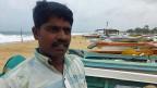 Einer der Fischer im Norden Sri Lankas.