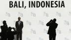 Die neunte Welthandelsorganisation-(WTO)-Ministerkonferenz 2013 in Nusa Dua auf der indonesischen Ferieninsel Bali.