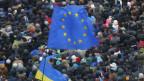 Proteste in Kiew: «Die Ukraine gehört zu Europa».