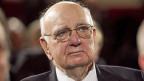 Nicht viele Menschen können mit 86 Jahren noch in die Geschicke der Welt eingreifen. Paul Volcker ist einer von ihnen. Hier auf einem Bild von 2011.