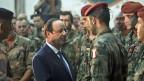 François Hollande besucht die französischen Truppen in Bangui in der Zentralafrikanischen Republik.