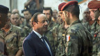 François Holllande besucht am 10. Dezember die französischen Truppen in Bangui, der Hauptstadt der Zentralafrikanischen Republik.