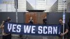 Proteste gegen den US-Geheimdienst in Berlin