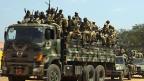 Die südsudanische Armee SPLA am 21. Dezember in der Hauptstadt Juba.